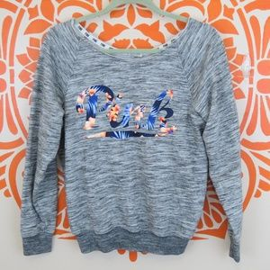 Pink Victoria's Secret Gray Sweatshirt XS